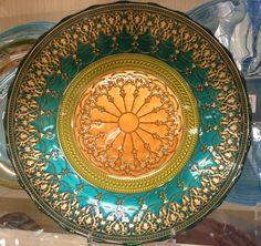 Home Goods Decorative Plate