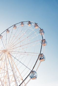 New free stock photo of amusement park, fairground, ferris wheel Aesthetic Pastel Wallpaper, Aesthetic Backgrounds, Aesthetic Wallpapers, White Aesthetic, Aesthetic Photo, Aesthetic Pictures, Photo Wall Collage, Picture Wall, Of Wallpaper