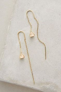 Pearblossom Threaded Earrings - anthropologie.com