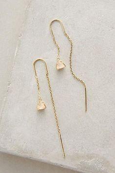 Pearblossom Threaded Earrings - anthropologie.com