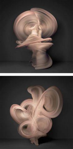 beautiful portrait of a dancer....Nude: Photo Series by Shinichi Maruyama #photography #Motion #art