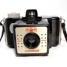 Coronet 4 x 4 Bakelite #vintage #camera