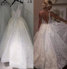 Cheap bridal dresses - Sparkle Sequined White Long Wedding Dresses 2020 Deep V Neck Sexy Low Back Bridal Dresses Cheap Pageant Special Occasion Gowns For from Sweet Bridal – Cheap bridal dresses Cheap Bridal Dresses, Wholesale Wedding Dresses, Affordable Prom Dresses, Long Wedding Dresses, Party Dresses For Women, Wedding Dress Styles, Wedding Gowns, Prom Gowns, Wedding Dress Sparkle