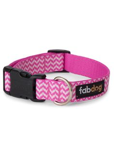 Shop where every purchase helps shelter pets! Fab Dog Pink Chevron Collar - from $19.99