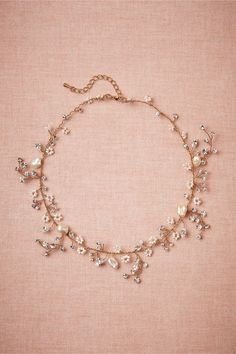 Beautiful, delicate necklace - why can't I find jewelry like this around here?!?
