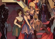 InSEXts is a horror comic about shapeshifting Victorian lesbians, sex, gore, and the power of queer voices from the mind of Marguerite Bennet. Obviously we're into it.