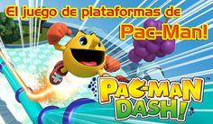 Namco Bandai lanza el nuevo juego de plataformas Pac-Man Dash! para Android http://www.xatakandroid.com/p/95815