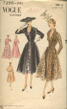 Vogue 7290 vintage sewing pattern