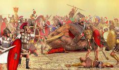 Battle of Zama by caastel