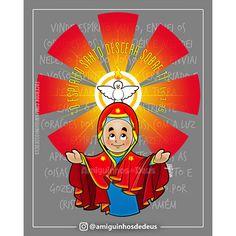 nossa senhora de pentecostes desenho