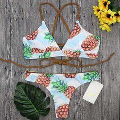 68c1ae7b0a Women Bikini Set Swimming Two Piece Swimsuits Swimwear Beach Suit