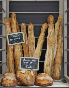 French Baguettes / via rebecca plotnick