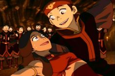 Which episodes of Avatar the Last Airbender did Aang and Katara kiss in? Avatar Aang, Suki Avatar, Avatar Funny, Ang And Katara, Zuko And Katara, The Last Avatar, Avatar The Last Airbender Art, Theme Anime, Avatar Images