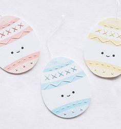 ❤ Hímzést tanító húsvéti tojás kártyák gyerekeknek ❤Mindy -  kreatív ötletek és dekorációk minden napra