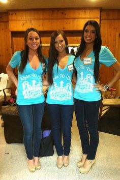 These shirts are great, I love our crest <3 ΑΞΔ