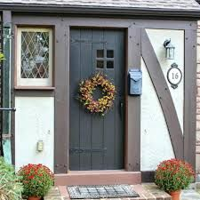Image Result For Front Door Colors For Tudor House Painted Front Doors Front Door Paint Colors Cottage Front Doors