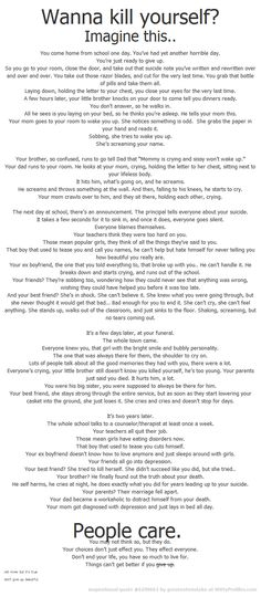 Read!! OMG I cryed! Please don't hurt ur selves! People care!!!