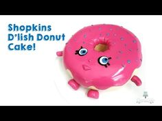 Shopkins D'lish Donut Cake | how to make from Creative Cakes by Sharon. Link download: http://www.getlinkyoutube.com/watch?v=PD2bhYEqhSg