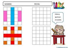 Motricidad fina-10 Abc Phonics, Fine Motor, Activities For Kids, Math Skills, Graphic Design