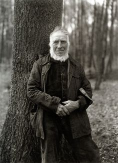 "The Woodcutter,1931, by August Sander -  August Sander (1876 –1964) was a German portrait and documentary photographer. He has been described as ""the most important German portrait photographer of the early twentieth century."""