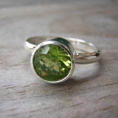 Green Peridot Gemstone - green, my favorite color