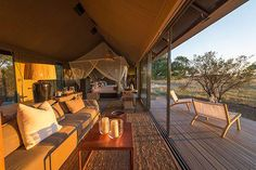 Linkwasha Camp in Zimbabwe offers stunning rustic-luxe accommodations for visitors: http://archdg.st/1P3QHGT
