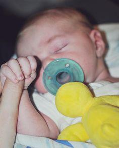 What is RSV? Newborn holding finger -- Misty Nelson son Brady mommyblogger frostedmoms.com @frostedevents #rsv #baby #health #wellness