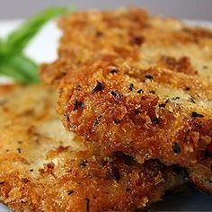 Parmesan Panko Herb Crusted Chicken Breast...Mmmm this must happen for dinner sometime this week.