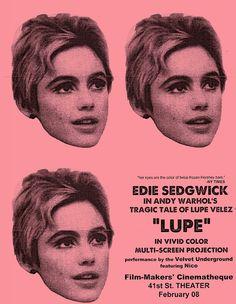 Andy Warhol, Lupe Velez, Bad Film, Edie Sedgwick, Collage Book, Modern Pop Art, Twist And Shout, American Artists, Superstar