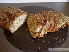koolhydraatarm courgette brood