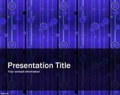 Elegant Pattern PowerPoint Template is a blue theme for PowerPoint presentations with a strange but elegant background with tile pattern effect. This free abstract template for PowerPoint can be used for multiple pruposes. This elegant PPT template contains a science pattern that can be compared to blood lines or also test tube samples in the slide design. This free elegant template can be used in science projects but also for other projects at lab or researching PowerPoint templates.