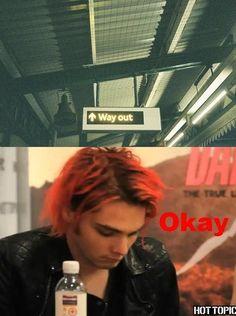 Lol! Gerard Way, My Chemical Romance