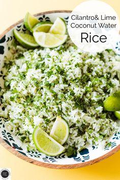 Cilantro Recipes, Veggie Recipes, Mexican Food Recipes, Cooking Recipes, Healthy Recipes, Delicious Recipes, Vegetarian Recipes, Best Side Dishes, Side Dish Recipes
