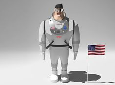 Cpt. Bruce - a 3D model by Adrian Mankovecký | VECTARY illustration  sketch  man  character  show  android  robot  futuristic  isolated  people  technology  business  cyborg  science  military  human  uniform  person  guy  forthcoming