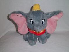 stuffed animals | Disney Store Plush Dumbo The Flying Elephant Bean Bag Stuffed Animal