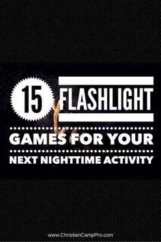 Are you tired of the same old night time games? Then, get creative by incorporating one of these fun flashlight games. Watching is as fun as playing! Youth Ministry Games, Youth Group Activities, Youth Games, Games For Teens, Youth Groups, Church Activities, Therapy Activities, Small Groups, Camping Games