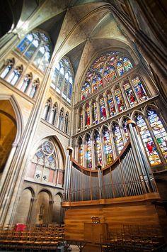 cathédrale Saint Etienne de Metz. Alsace
