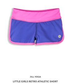 Jill Yoga activewear offers the latest in quality, fashionable yoga and activewear all at great prices! Athletic Shorts, Active Wear For Women, Little Girls, Gym Shorts Womens, Yoga, Retro, Lady, Swimwear, Fashion
