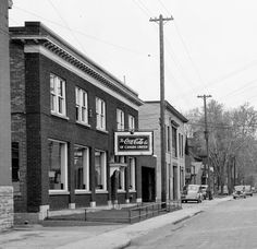 Coca-Cola first came to Ottawa in 1912 and built its first bottling plant on Queen Street, west of Lyon. The building still stands - The Glue Pot Pub with a strip club upstairs.