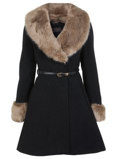 If I ever live in a cold enough place I will own a coat like this!!