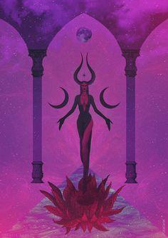 Dark Fantasy Art, Dark Art, Ange Demon, Japon Illustration, Arte Sketchbook, Goddess Art, Witch Art, Pulp Art, Book Of Shadows