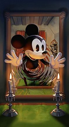 Mickey Through the Looking Glass