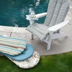 Ulani Adirondack Chair Cushion.