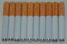 "3 Pack 2/"" Aluminum Digger Bat Metal Tobacco Pipe USA Seller Free Shipping"