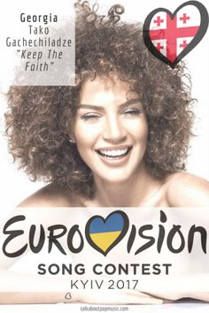 """Eurovision Song Contest Georgia – """"Keep The Faith"""" By Tako Gachechiladze Eurovision 2017, All Kinds Of Everything, Keep The Faith, Pop Music, Georgia, Europe, Party Ideas, Songs, Ideas Party"""