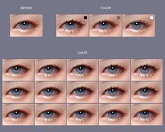 Sims 4 Cc Eyes, Sims 4 Cc Skin, Sims 4 Mm Cc, Sims 4 Teen, Sims Four, Sims 4 Toddler, Los Sims 4 Mods, Sims 4 Body Mods, Sims 4 Mods Clothes
