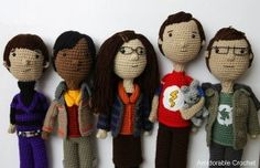 "amidorable Big Bang Theory cast- free crochet pattern for ""Shamy"""