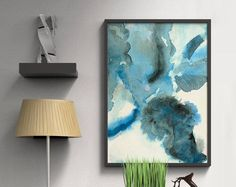 Modern and minimal abstract paintings and art by AdriLunaStudio