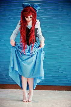 I would love this!! Ariel the little mermaid costume, if only I could sew!!
