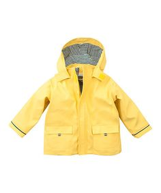 This Yellow Fisherman Jacket - Infant, Toddler & Boys is perfect! #zulilyfinds